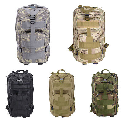 28L Outdoor Hiking Camping Bag Army Military Tactical Rucksack Backpack Trekking