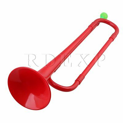 Red ABS Brand New Plastic 45cmx11cm Bb Trumpet with Bugle Mouth