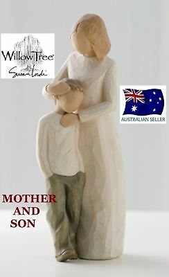 Willow Tree MOTHER AND SON Figurine By Susan Lordi By Demdaco NEW IN BOX