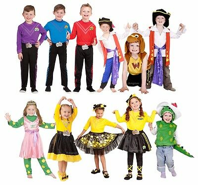 Wiggles Deluxe Costume Emma Lachy Simon Anthony Wags Dorothy Wiggle Dress Up