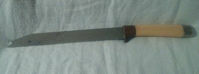 "Regent The Miracle Worker Stainless Steel 7 1/4"" Vintage Serrated Knife"