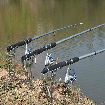 New Stainless steel Fishing Rod Holder with Automatic Tip-Up Hook Hot Brand OP