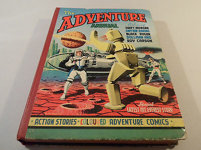 The Adventure Annual 1955 Swift Morgan Ct Darling Black Roger Dollman Roy Carson