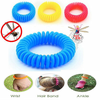 Anti Mosquito Bug Insect Repellent Bracelet Wrist Band Repellent For Camping