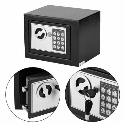 HOT Digital Electronic Home Office Safe Security Box Wall Jewelry Gun Cash Black