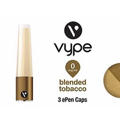 Vype ePen 3 cap Caps Blended Tobacco 0 mg/ml  Neu/New OVP