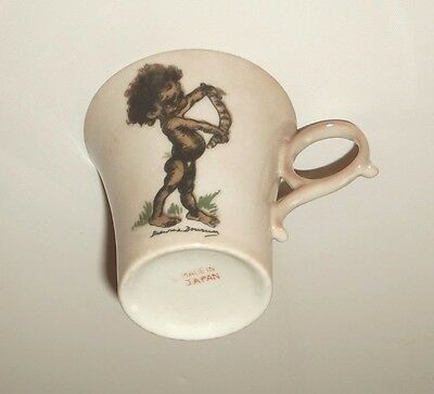 Vintage Brownie Downing Cup Aboriginal Australiana -Collectable Pottery