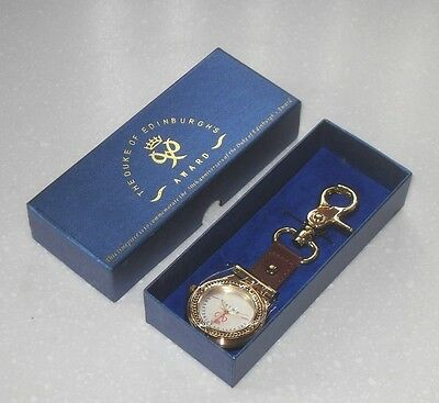 2006 Duke of Edinburgh's award 50th anniversary keyring Fob watch New In Box