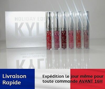 Coffret lipstick matte liquid HOLIDAY EDITION KYLIE JENNER rouge à levre