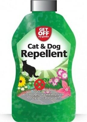 Get Off Cat & Dogs Repellent Scatter Crystals for Paving/Lawns and Plants | 460G