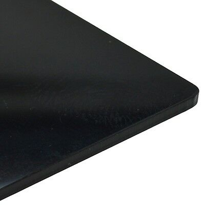 2mm Perspex Black Gloss Acrylic Plastic Sheet 16 SIZES TO CHOOSE