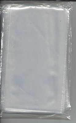 """100 New Extra Clear 2-mil U.S. First Day Cover Poly Sleeves 3-3/4"""" x 6-7/8"""""""