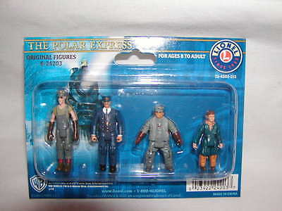 Lionel 6-24203 Polar Express Original Figure Pack MIB New 4 Figures O 027 MIB