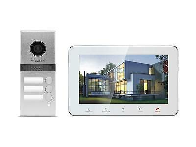 Video Door Phone Intercom Home Security Entry System for 3-Familly V-IP7-D3 !!!