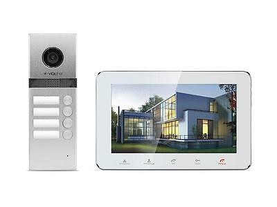 Video Door Phone Intercom Home Security Entry System for 4-Familly V-IP7-D4 !!!