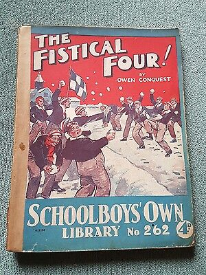 "Frank richards"" The fistical 4 !"" schoolboys own library number 262"