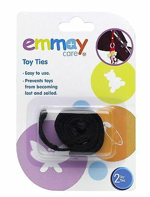 2 x EMMAY CARE TOY TIES KIDS BUGGY PRAM CAR SEAT STROLLER HANGING SAFETY
