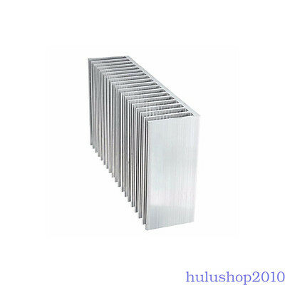 Large Big Aluminum Heatsink Heat sink radiator for Led High Power Amplifier amp