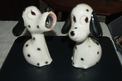 Vintage 50's – 60's Dresden Art Dalmatian Dog Pencil Sharpen and Pencil Holder