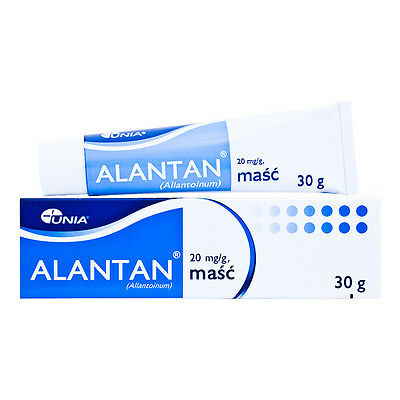 ALANTAN Ointment Chronic Wounds Ulcers Burns Chronic Dermatitis Psoriasis 30g