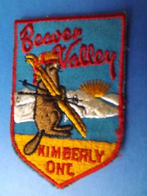 Ski Beaver Valley Kimberly Patch Skiing Vintage Ontario Souvenir Canada