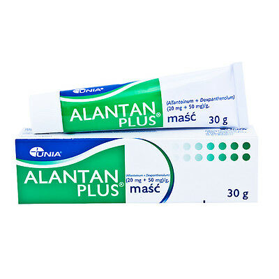 Alantan Plus Masc 30g Treatment of wounds abrasions cuts burns care nipples