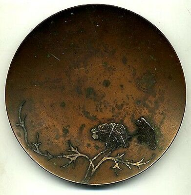 Heintz Art Metal Arts and Crafts Dish