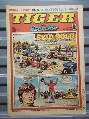 Tiger And Scorcher 13Th March 1976 [Sheffield United Colour Centrefold]