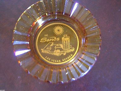 Rare Sands Hotel Las Vegas Ashtray Never Used Vintage 1970's Regency Room Rest.