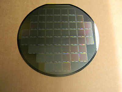 """6"""" Silicon wafer Cypress-Fillfactory  STAR-250  Image Sensor"""