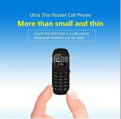 BM70 Mini Small GSM Mobile Phone Bluetooth Dialer Earhook Headset Cellphone US