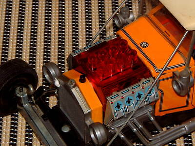 Alps Hot Rod Custom 't' Ford Tin B/o Car In Original Box And Working Perfectly!