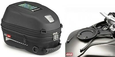BMW F800 GS Since bj. 08 -. Givi Motorcycle Tank Bag Set ST603 15 L + Ring NEW