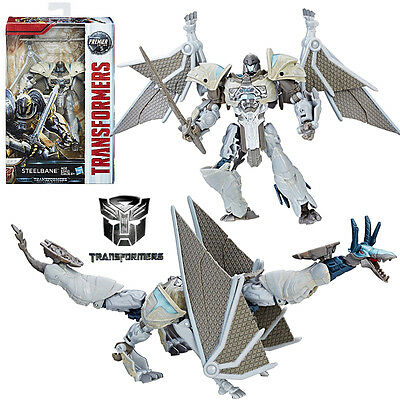 Transformers The Last Knight Steelbane Deluxe Action Figures Premier Edition Toy