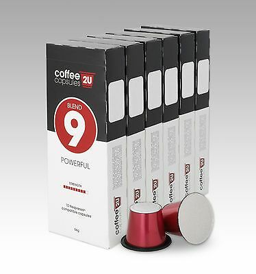 Blend 9- Powerful- 120 Pack- Nespresso Compatible Coffee Capsules