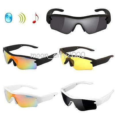 Wireless Music Polarized Sunglasses With Stereo Handsfree Bluetooth 4.1 Headset