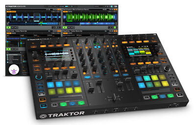 Native Instruments Traktor Kontrol S8 DJ Interface and Controller (NEW)