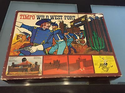 Timpo Wild West Fort 259 1970's Boxed And Great Condition Britains Rare