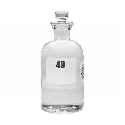Wheaton 227497-03 BOD Bottle, 300mL, Robotic Stopper, Numbered 49-72, 69mm Diame