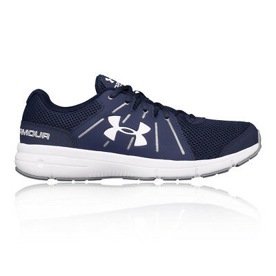 Under Armour Dash RN 2 Mens Blue Running Sports Shoes Trainers