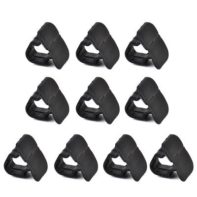 10x Engine Hood Cover Insulation Pad Clips Fit For VW Beetle Jetta Audi A4 S4