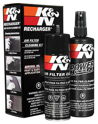 Cleaning Kit K&N 99-5003 Filters Air Detergent + Oil