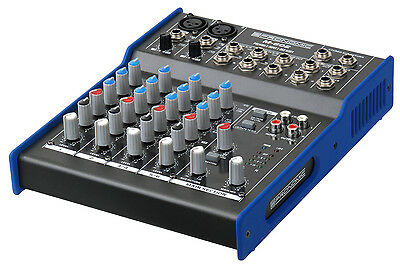 Mixer Table Mixage Controleur Dj Scene Pa Professionnel 6 Canals Xlr Jack