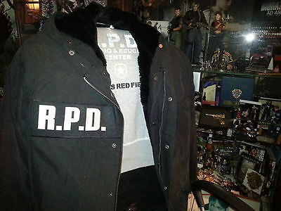 Resident Evil - Raccoon PD R.P.D. Logo Hoop & Loop Patch For Tactical Vest