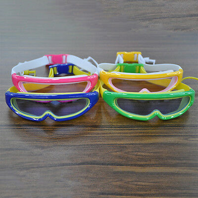 Protection Hot New Kids Swim Goggles Anti-fog  Conjoined Earplugs Silicone