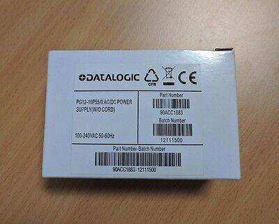 90ACC1883 Datalogic POWER SUPPLY  12VDC  PG12-10P55 WITHOUT POWER CORD