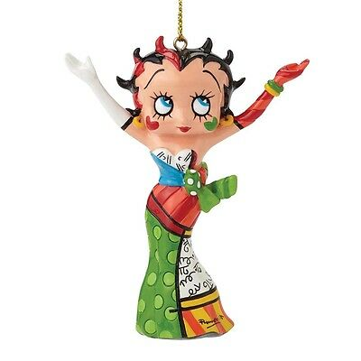 Britto Betty Boop Christmas Hanging Ornament