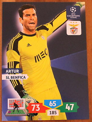Champions League Adrenalyn XL 2013-2014 Artur Sl Benfica