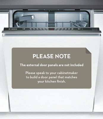 NEW Bosch SMV46GX01A Serie 4 Fully Integrated Dishwasher