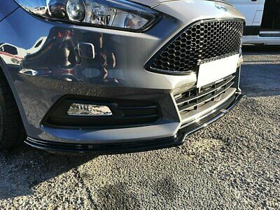 Ford Focus ST MK3 Facelift Cup Spoilerlippe Front Diffusor struktur version 3